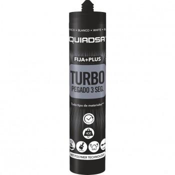 Adhesivo-sellador de fijación instantánea quiadsa fija+plus turbo