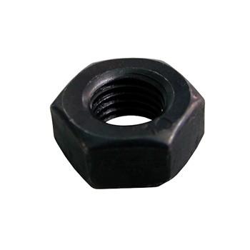 Tuerca din-934 hexagonal, de acero (c-10) y rosca métrica fina