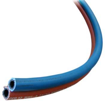 Tubo de goma doble para oxigeno / acetileno