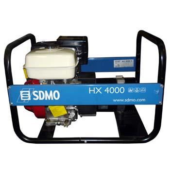Generador monofásico sdmo hx 4000