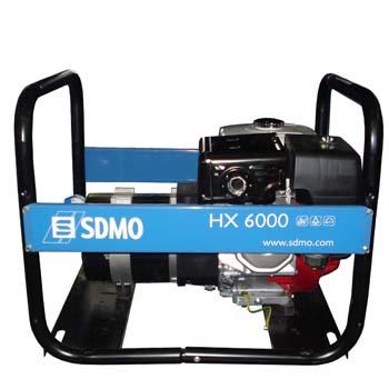 Generador monofásico sdmo hx 6000-2