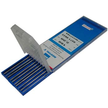 Electrodo tungsteno 2% cerio ecológico