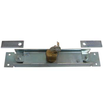 Cerradura para puerta de ballesta con dos puntos de cierre