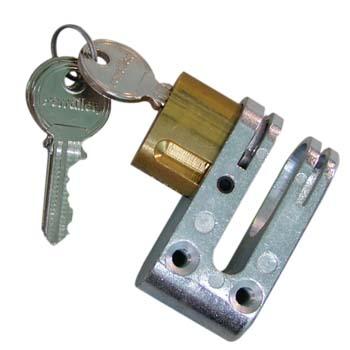 Cerradura para puerta de ballesta