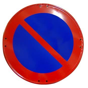 Señal de estacionamiento prohibido ref: r-308.