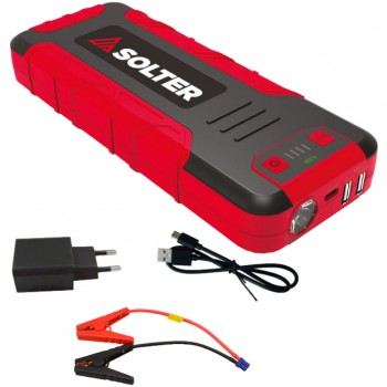 Mini arrancador de batería multifunción solter mod. lithium lt17