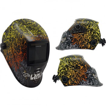 Pantalla de soldadura  electrónica regulable mod. hellmet welder 06773