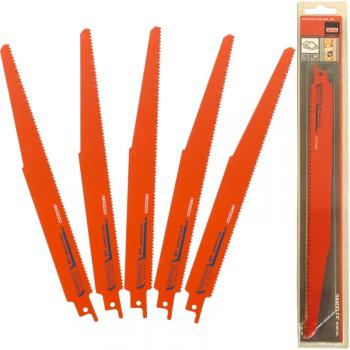 Juego de 5 hojas de sierra de sable sandflex® bi-metal ref. 3840 dsl