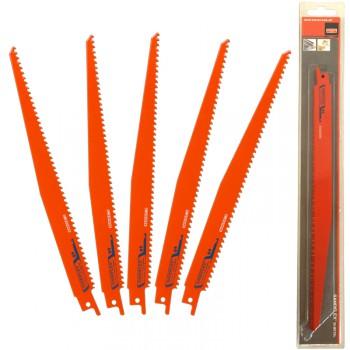 Juego de 5 hojas de sierra de sable sandflex® bi-metal ref. 3840 sl