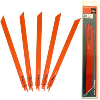 Juego de 5 hojas de sierra de sable sandflex® bi-metal ref. 3840 st