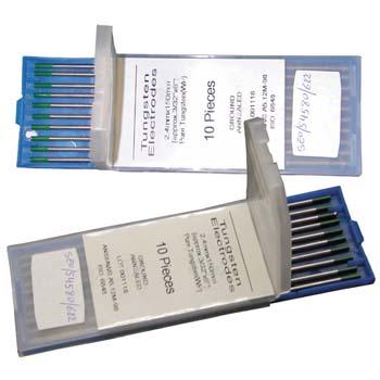 Electrodo tungsteno puro
