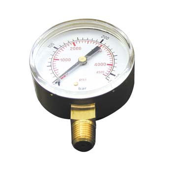 Manómetro para manorreductores de oxigeno