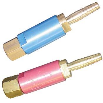 Válvula de seguridad para oxigeno y acetileno