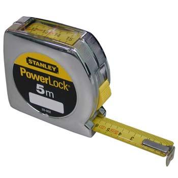 Flexómetro modelo powerlock con freno y lectura superior