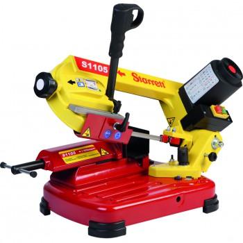 Máquina de sierra de cinta manual monofásica de elevada potencia mod. s1105