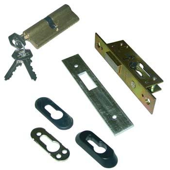 Cerradura embutir tesa 2201 con cilindro