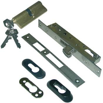 Cerradura embutir tesa 2241 con cilindro