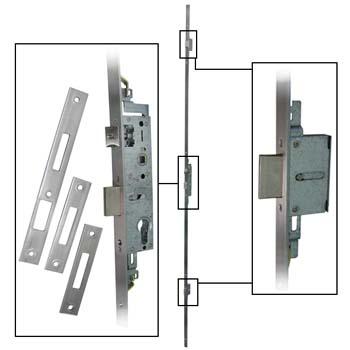Cerradura embutir tesa 4230x sin cilindro