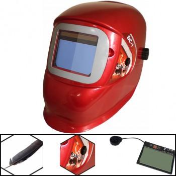Pantalla de soldadura electrónica mod. dc-1 sl513g rojo