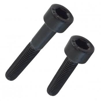Tornillo din-912 de cabeza cilíndrica con hueco hexagonal, de acero (8.8) y rosca métrica.