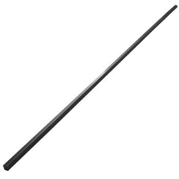 Chaveta din-6880 o aceros para cuñas, largo 1 metro, de acero (c45k).