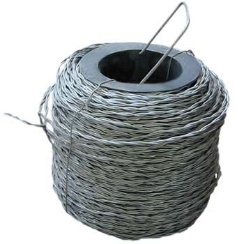 Alambre cordón de dos alambres