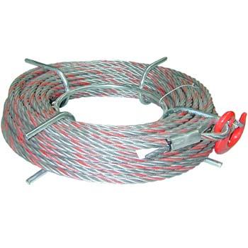 Cable para polipastos con gancho