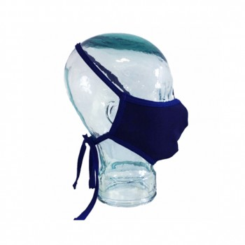 Mascarilla reutilizable turbo mask 2 azul marino