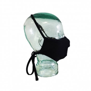 Mascarilla reutilizable turbo mask 2 negra