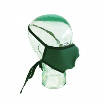Mascarilla reutilizable turbo mask 2 verde oscuro