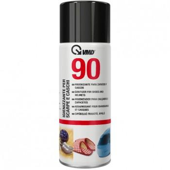 Higienizante para zapatos y cascos en spray