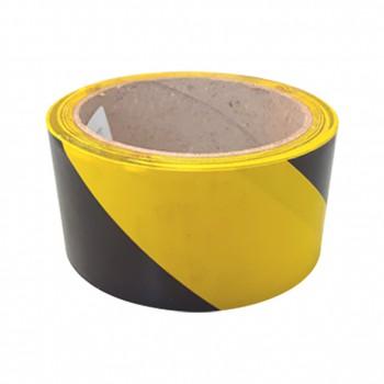 Cinta adhesiva amarilla-negra