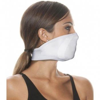 Mascarilla reutilizable summer light adulto blanca