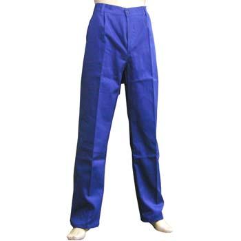 Pantalón de tergal azulina.