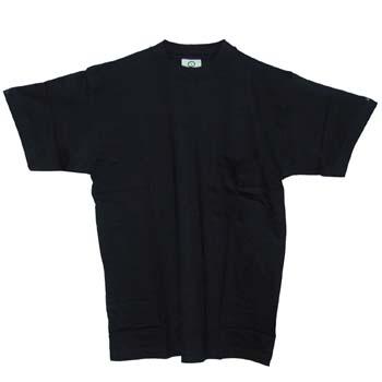 Camiseta de algodón con manga corta y un bolsillo