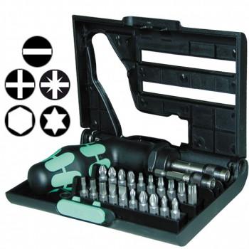 Juego de puntas con accesorios (22 piezas) ref. kompakt 90