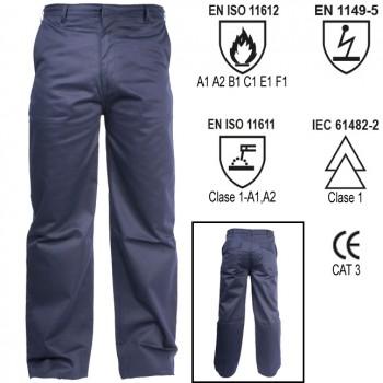 Pantalón con tratamiento ignífugo welder ref. wlr-200