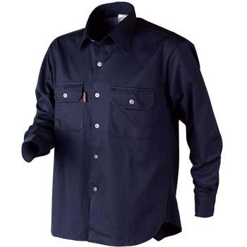 Camisa de manga larga de algodón mod. cotton
